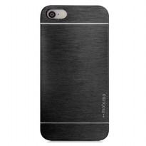 Motomo Metal Hard Back Ultra Thin Fit Slim Case For Apple Iphone 5/5S - Black