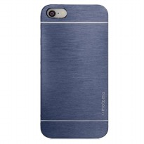 Motomo Shield Compact Protective Cool Protector Tough Case For Apple Iphone 5/5S - Navy