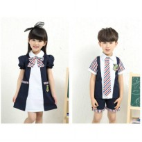 Cutevina - Baju Couple Anak 3-12th (CSC17001/CSC17002)