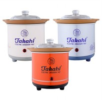 Slow Cooker Takahi 0.7lt (packing kayu dan asuransi)