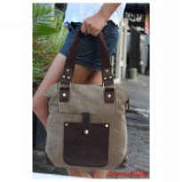 BOURZU GIPSY 2 in 1 Genuine Leather - Messenger and handbag