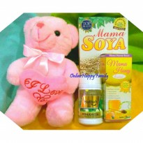 [PAKET F - ASI BOOSTER] ==> MAMA SOYA + MAMA HONEY + HU