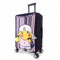 (Termurah) Cartoon Elastic Luggage Cover/ Sarung Pelindung Koper Elastis 22