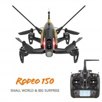 Drone Walkera Rodeo 150 F150 F3 5.8G FPV 600TVL Camera DEVO-7 3D Roll 40CH