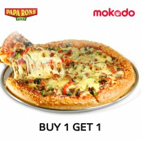 [BUY 1 GET 1] PAPA RON'S PIZZA: LOADED TO THE MAX ( L ) LARGE