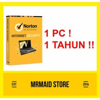 Norton Internet Security 1 PC 1 Tahun