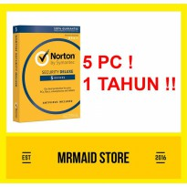 Norton Security Deluxe 5 PC 1 Tahun