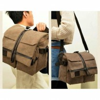 (Termurah) TAS KAMERA FOTO VIDEO/SLINGBAG MESSENGER CASUAL DSLR/TAS CASING KAMERA
