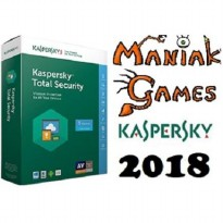 [TERMURAH] Kaspersky Total Security / Pure 2018 3PC 1Tahun