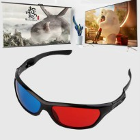 [globalbuy] New 3D Plastic glasses/Oculos/Red Blue Cyan 3D glass Anaglyph 3D vision/cinema/3657034