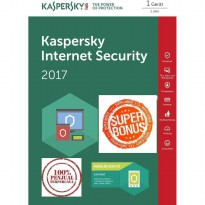 [NEW!! Kaspersky SUPER BONUS] Kaspersky Internet Security 2017 - 1PC
