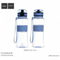HOCO CP1 550ml Tritan Silicone Water Bottle for Outdoor Sports - Blue