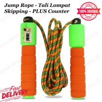 Jump Rope - Tali Lompat Skipping - PLUS Counter Adjustable