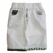 Boys Fashion Short Pant / Celana Pendek Anak 2-7th - Putih (GZ17004)
