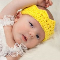 Topi Bayi / Baby Hat / Crown Hat / Kostum Bayi / Hair Accessories Baby Photography / Mahkota / Tiara