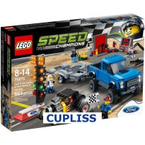 LEGO Speed Champions 75875 Ford F-150 Raptor and Ford Model A Hot Rod