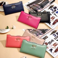 Jims Honey - Dompet Fashion Import - Ribbon Wallet (6 Warna)