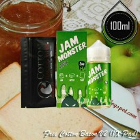Jam Monster 100ml Eliquid Vape - Apple (USA Liquid)