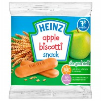 HEINZ APPLE/BANANA/CHOCOLATE BISCOTTI 60 GR