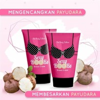 SEXY BOOBS BREAST CREAM BY THE BODY CULTURE PENGENCANG PAYUDARA