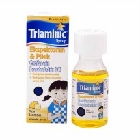 TRIAMINIC EKSPETORAN & PILEK 60ML RASA LEMON