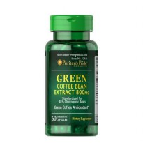 Puritan's Pride Green Coffee Bean Extract 800 mg - 60 Kapsul