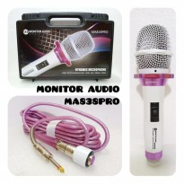 Mic Kabel Monitor Audio MA 838 Pro Dynamic Microphone