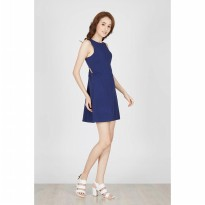 Gwen Eltmann Dress in Navy