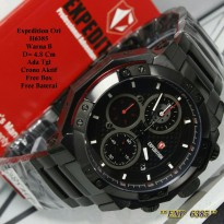 Jam Tangan Pria / Jam Tangan Expedition Stark Black Color Fashion ORI