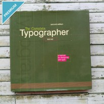 Buku Desain Import The Complete Typographer: A Manual For Designing