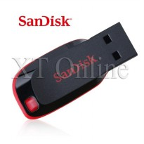 SanDisk Cruzer Blade USB Flash Drive CZ50 64GB