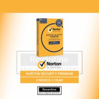 Antivirus Norton Security Premium 2 PC 3 Tahun