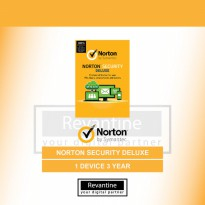 Antivirus Norton Security Deluxe 1 PC 3 Tahun