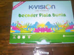 K-VISION  TV - VOUCHER VISIK 100.000- MURAH SE INDONESIA