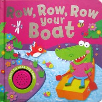 [HelloPandaBooks] Row, Row, Row Your Boat Melody Sound Board Book