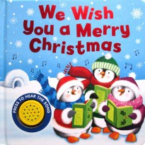 [HelloPandaBooks] We Wish You a Merry Christmas Melody Sound Board Book
