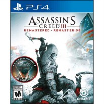 Assassins Creed III Remastered Game PS4 (R1)