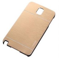 Motomo Metal Hard Back Ultra Thin Fit Slim Case For Samsung Galaxy Note 3 - Gold