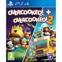 Overcooked and Overcooked 2 Double Pack Game PS4 (R2)