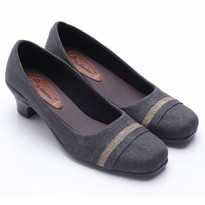Dr.Kevin Ladies Shoes Canvas 43147 Black