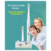 Pro Oral Tooth Brush / sikat gigi electrik rechargeable