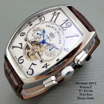 Jam tangan Pria / jam Tangan Murah Franck Muller Matic Super Two Color