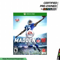 Madden NFL 16 Game Xbox One Preowned