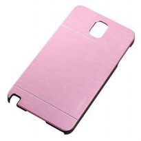 Motomo Shield Compact Protective Cool Protector Tough Case For Samsung Galaxy Note 4 - Baby Pink