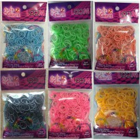 Top  Model 3228 double CRubber Loom & Clip (S)