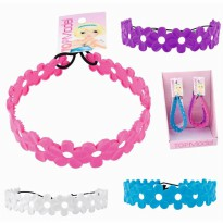 Top Model 7784 Flower Hairband silicone