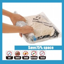 Hand Rolling Compressed Plastic Bag /1 Paket = 4 pcs Plastic Bag