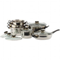 Vicenza Stainless Cookware - Panci Set V612 Baja Stainless Steel