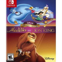 Disney Classic Game Aladdin and The Lion King Nintendo Switch Game