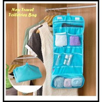 Hanging Travel Cosmetic Toiletries Bag / Tas Travel Lipat Gantung Alat Mandi dan Kosmetik